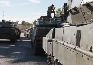 Fila de Leopard 2E