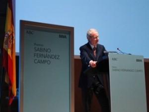 Discurso de Pedro Morenés
