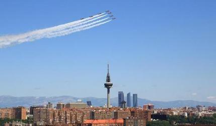 Patrulla Águila en Madrid