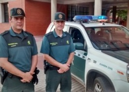 Pareja Guardia Civil