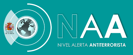 Logotipo NAA - Nivel de Alerta Antiterrorista