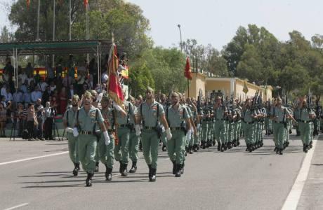 95º aniversario de la legión