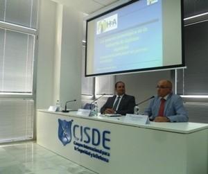 El Teniente Coronel Jiménez Moyano aportó el punto de vista de la industria de defensa española