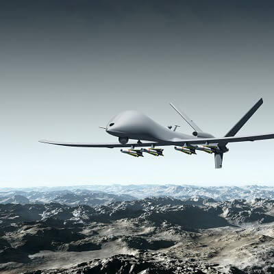 Drones de Aplicación Militar