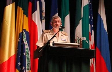 General García-Vaquero durante el XXIII Curso Internacional de Defensa