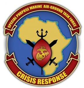 Escudo del Special Purpose Marine Air-Ground Task-Force Crisis Response Unit for Africa