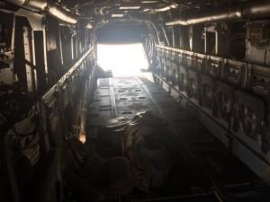 Interior de un MV-22B Osprey