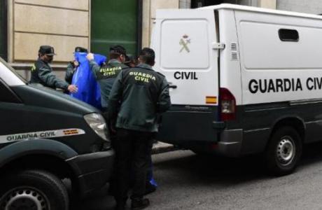 Foto de archivo. Un detenido por yihadismo por la Guardia Civil