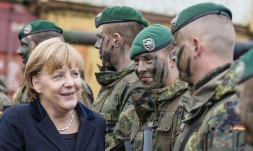 Merkel-ejército-alemán