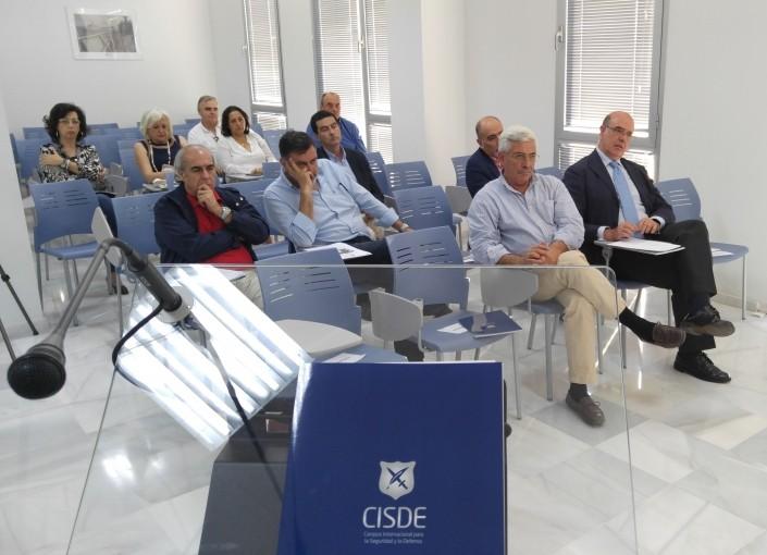Conferencia: Militares de Sanidad Españoles en Indochina. Público asistente