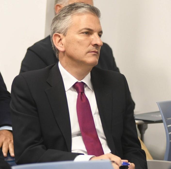 El profesor de CISDE Fernando Ibáñez.