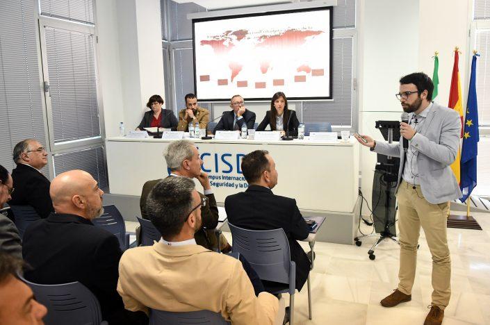 """Ponencia """"Financiación del terrorismo a través de la venta de antigüedades"""" D. Álvaro Hernández Bonet, miembro del GIAFTY."""