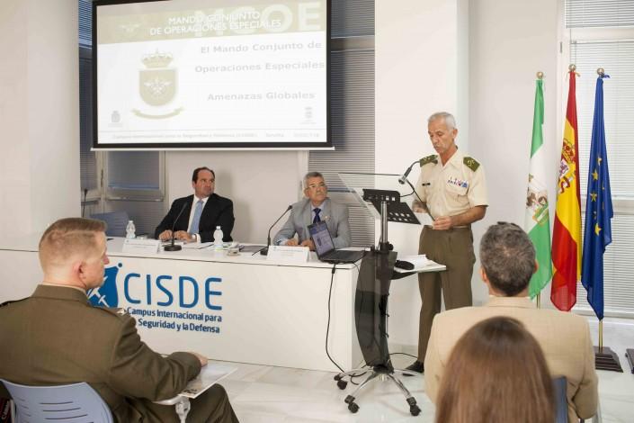 """Conferencia: """"El Mando Conjunto de Operaciones Especiales de España ante las crecientes amenazas globales"""""""