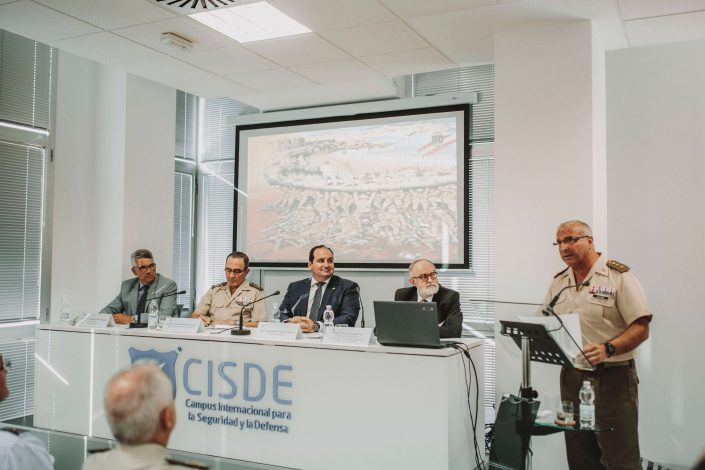 """Conferencia de Clausura """"La Fuerza Terrestre en Operaciones"""""""