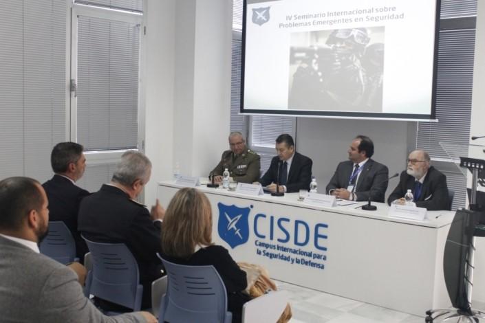 Clausura Delegado del Gobierno en Andalucía. IV Seminario Internacional sobre Problemas Emergentes en Seguridad CISDE