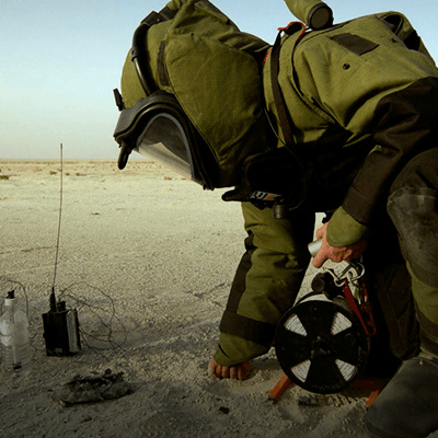 Protección Artefactos Explosivos Improvisados