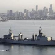El buque Cantabria en Melbourne