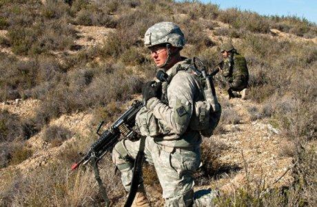 Militares en el ejercicio Trident Juncture 2015