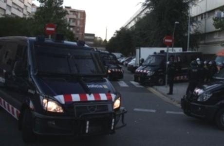 Operación de los Mossos d'Esquadra en La Mina