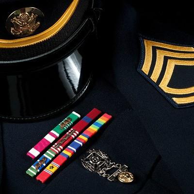 Cortesía Militar, Empleos y Tratamientos