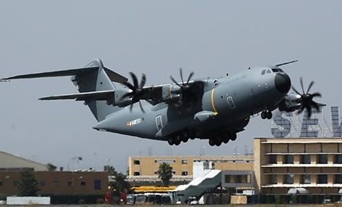 Despegue del A400M del Ejército Español