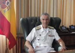 El JEMAD, almirante general Fernando García Sánchez
