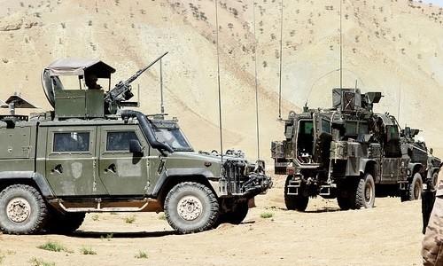 Imagen ofrecida por el Ministerio de Defensa