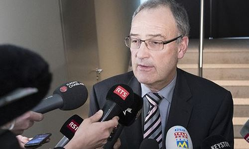 Guy Parmelin, Ministro de Defensa suizo