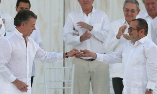 Acto de la firma de Paz
