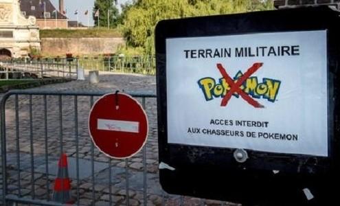 Prohiben en Francia en las zonas militares