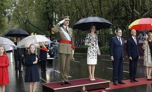Imagen oficial de los actos del Ministerio de Defensa