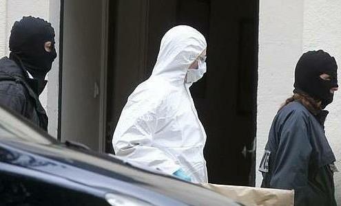 Imagen de los medios de comunicación españoles del momento del hallazgo