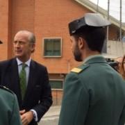 El Director General visitaba al guardia civil agredido