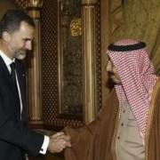 Última visita de Felipe VI a Arabia Saudita