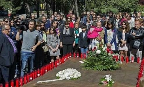 Homenaje a las víctimas del Yak 42