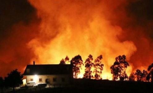 Imagen de un incendio, agencia EFE