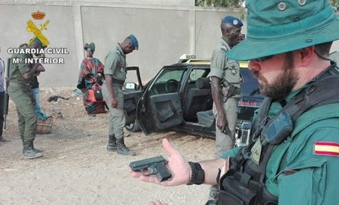 Guardia Civil Burkina Faso, imagen oficial