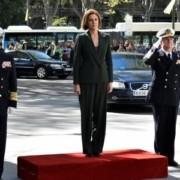 La ministra de Defensa preside el acto de toma de posesión del nuevo AJEMA