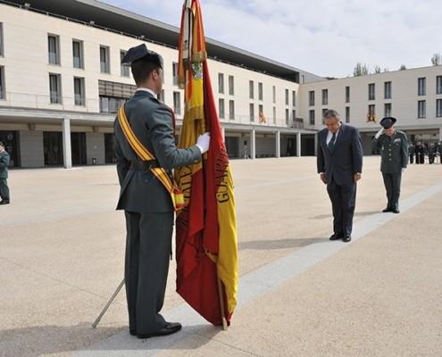 Imagen oficial de la Guardia Civil