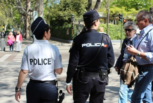 Imagen oficial de la Policía Nacional