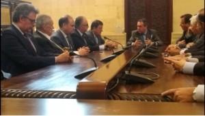 Imagen oficiales de la reunión, vía Twitter oficial del Consejo