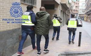 Detenidos en la estafa del CEO. Fuente: Policía Nacional.