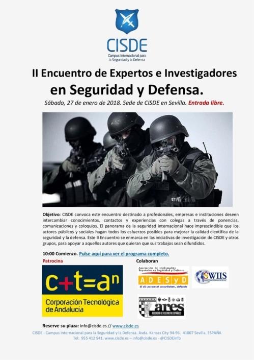 II Encuentro de Expertos en Seguridad y Defensa