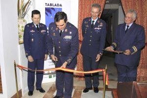 Inauguración de la Sala Histórica de Tablada.