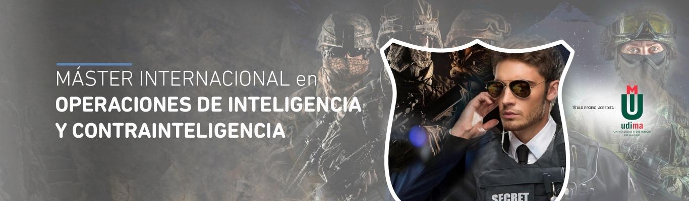 Máster Internacional en Operaciones de Inteligencia y Contrainteligencia
