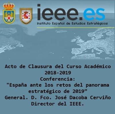 Clausura Curso Académico 18/19 CISDE