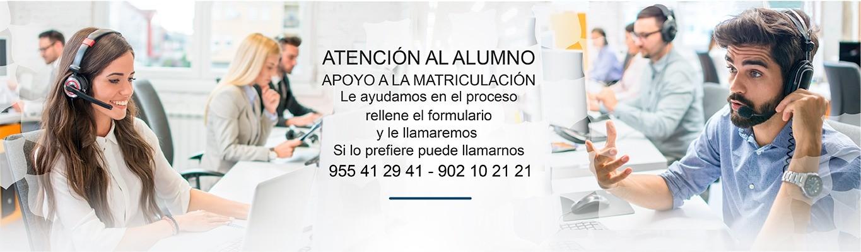 Atención al Alumno CISDE
