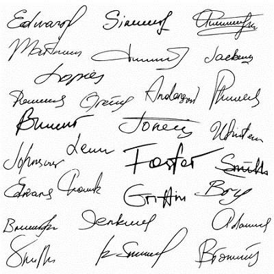 Analista de firmas y rúbricas